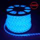 Дюралайт светодиодный LED-R2W 2-х жильный, синий 1,44Вт/м 36LED/м 100м 220V