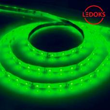 Cветодиодная LED лента LS604, 60SMD(2835)/м 4.8Вт/м 5м IP65 12V зеленый