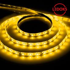 Cветодиодная LED лента LS604, 60SMD(2835)/м 4.8Вт/м 5м IP65 12V желтый