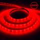 Cветодиодная LED лента LS604, 60SMD(2835)/м 4.8Вт/м 5м IP65 12V красный