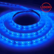 Cветодиодная LED лента LS604, 60SMD(2835)/м 4.8Вт/м 5м IP65 12V синий