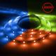 Cветодиодная LED лента LS606, 30SMD(5050)/м 7.2Вт/м 5м IP20 12V RGB