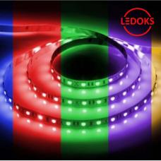 Cветодиодная LED лента LS606, готовый комплект 3м 60SMD(5050)/м 14.4Вт/м IP20 12V RGB