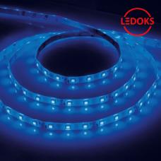 Cветодиодная LED лента LS603, 60SMD(2835)/м 4.8Вт/м 5м IP20 12V синий