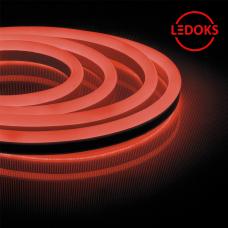 Гибкий неон светодиодный, 120SMD(2835)/м 9.6Вт/м 50м IP67 220V красный