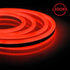 Гибкий неон светодиодный, 144SMD(2835)/м 12Вт/м 50м IP67 220V красный