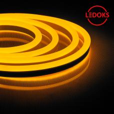 Гибкий неон светодиодный, 144SMD(2835)/м 12Вт/м 50м IP67 220V желтый