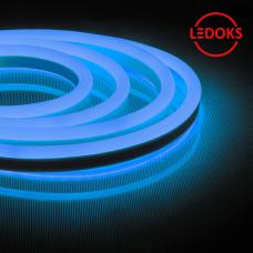 Гибкий неон светодиодный, 144SMD(2835)/м 12Вт/м 50м IP67 220V синий