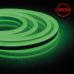 Гибкий неон светодиодный, 120SMD(2835)/м 9.6Вт/м 50м IP67 220V зеленый