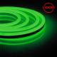 Гибкий неон светодиодный, 144SMD(2835)/м 12Вт/м 50м IP67 220V зеленый